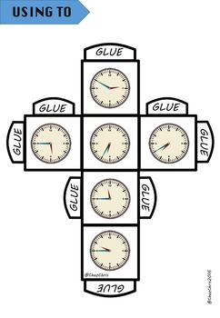 GAME: Time dice ! - What time is it ?