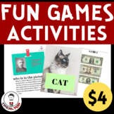 GAMES Bundle|GAMES Are Fun| Creative Tasks|Games & Activities|Centers|Play More
