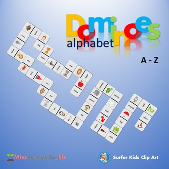 GAMES - DOMINOES FOR ALPHABET