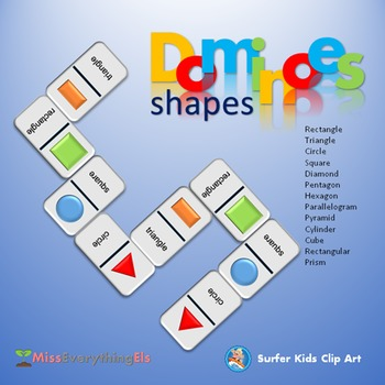 GAMES - DOMINOES FOR SHAPES