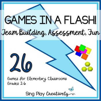 Bean Bag Games for Brain Breaks, Team Building, PE, Specia