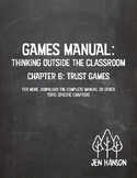GAMES MANUAL: Chapter 6 - Trust Games