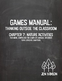 GAMES MANUAL: Chapter 7 - Nature Activities