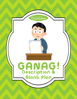 GANAG Description and Blank Plans!