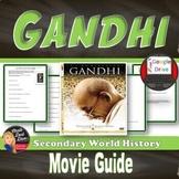 GANDHI Movie Guide (World History) Print & Digital