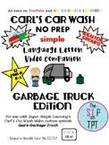 GARBAGE TRUCK Edition: Car Wash Language Lesson Video Companion