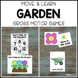 GARDEN Move & Learn Gross Motor Games - Preschool, Pre-K,