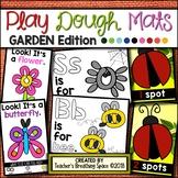 GARDEN Play Dough Mats --- 18 Picture Mats and 10 Counting Mats 1-10