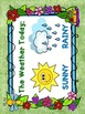 GARDEN THEMED WEATHER CHART PRINTABLE CLASSROOM DECOR PACK!