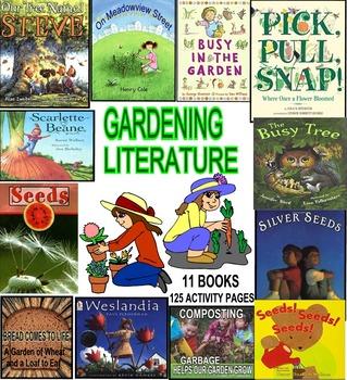 GARDENS! PLANTS! SEEDS! TREES! GARDENING POEMS & RIDDLES! 12 Award-winning  Books
