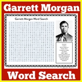 Garrett Morgan   Garrett Morgan Activity   Garrett Morgan Word Search