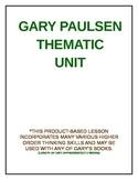 GARY PAULSEN THEMATIC UNIT