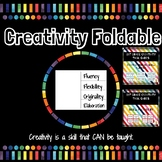 GATE Creativity Vocabulary Posters, Foldable, and Activities
