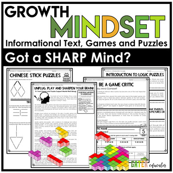 ** Gifted and Talented ** - Logic and Games - 2 1/2 Hour Activity