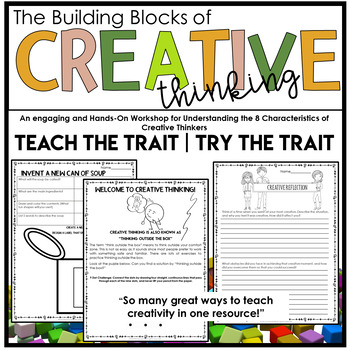 ** Gifted and Talented ** -The Building Blocks of Creative Thinking- 2 1/2 hrs
