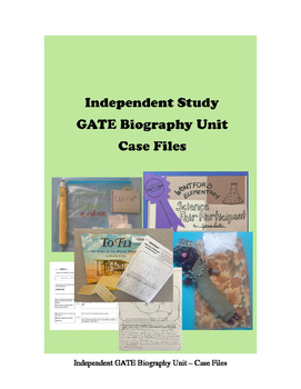 GATE Independent Project - Case File Biographies - Analysi