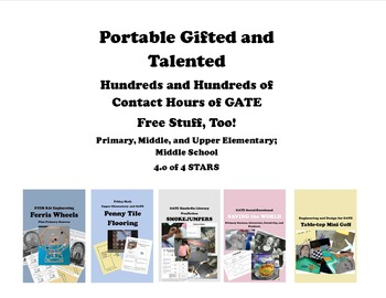 GATE Literacy Enrichment Talent Pool RUBRIC REPORT CARD -- Free!