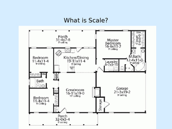 GATE PowerPoint Discussion of Scale in Blueprints