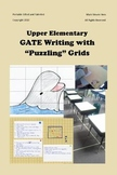 """GATE Writing with """"PUZZLING"""" Grids - 2 Lessons and Bonus"""