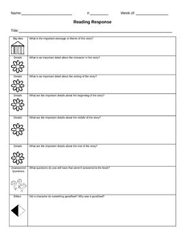 Reading Worksheets and Printables