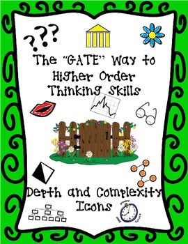 GATEway to Higher Order Thinking-GATE Icons