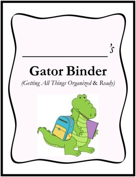 GATOR Binder Cover