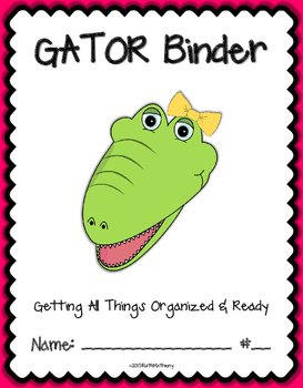 GATOR Binder {Student Organization Folder}