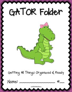 GATOR Folder {Student Organization Folder}