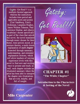 """GREAT GATSBY – Chapter 1:  """"The White Chapter"""" ELA Teacher"""