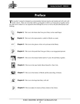 "GREAT GATSBY – ELA Teacher Introduction & Implementation ""Essentials"""