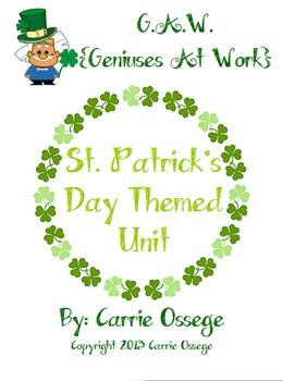 G.A.W. St. Patrick's Day Unit