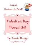 G.A.W. Valentine's Day Themed Unit