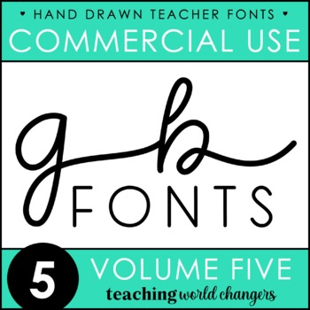 GB Fonts - Volume Five