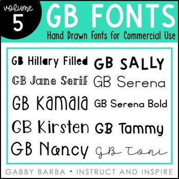 GB Fonts - Volume Five