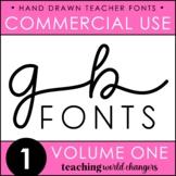 GB Fonts - Volume One