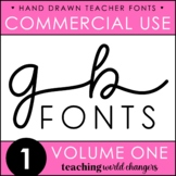 GB Fonts - Volume One