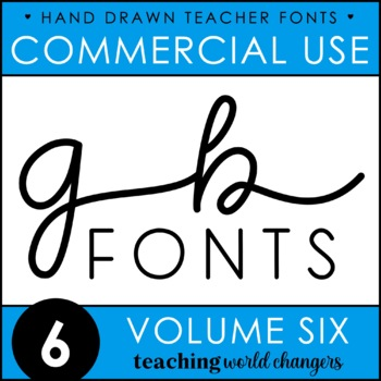 GB Fonts - Volume Six