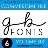 GB Fonts - Volume Six
