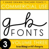 GB Fonts - Volume Three
