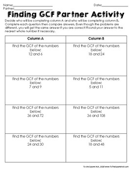 GCF Activities