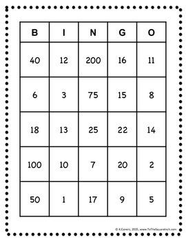GCF Bingo