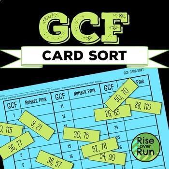 GCF Card Sort
