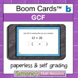 GCF Digital Interactive Boom Cards Distance Learning