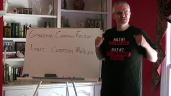 CC.6.NS.4 GCF & LCM 6th grade Math Video