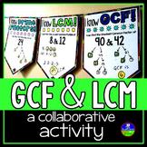 GCF, LCM and Prime Factors Pennant Activity