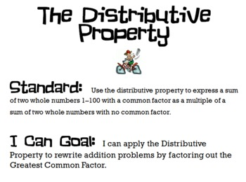 gcf and distributive property powerpoint by felicia purdy tpt