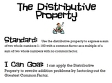 GCF and Distributive Property PowerPoint