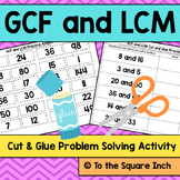 GCF and LCM Activity