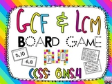 GCF and LCM Board Game