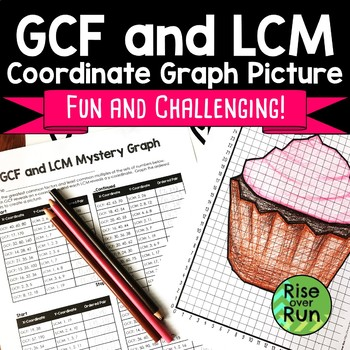 GCF and LCM Practice Activity by Rise over Run | TpT